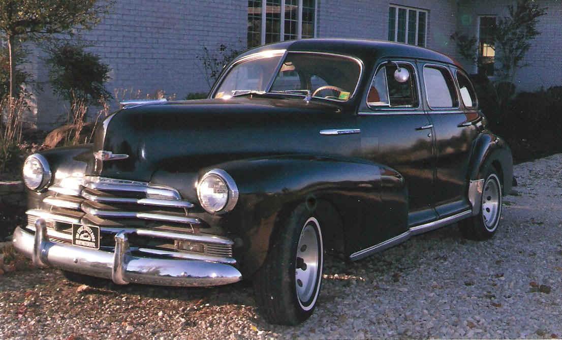 Image gallery 1947 chevy car for 1947 chevy fleetline 4 door